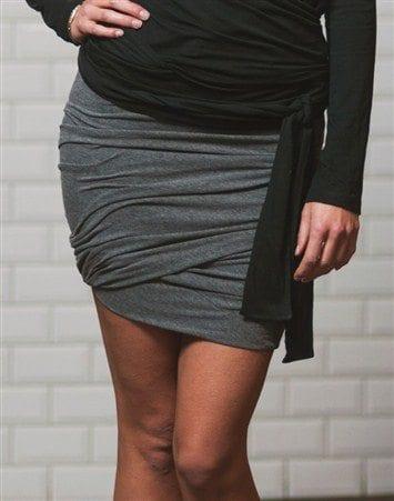 me&i twisted skirt
