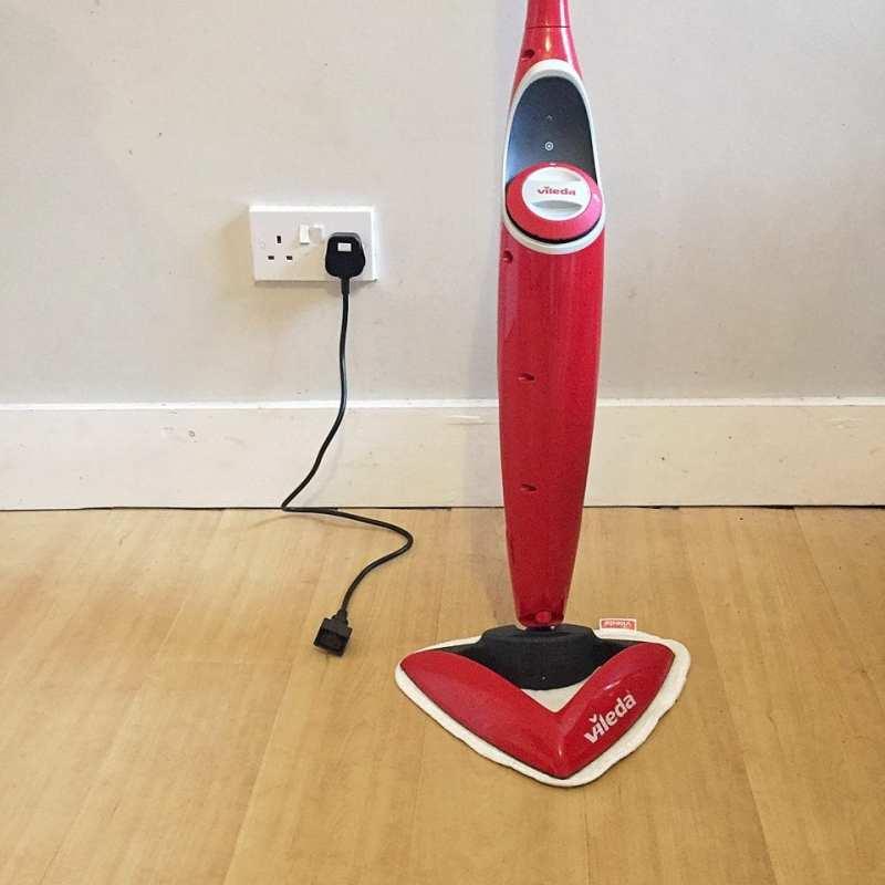 vileda 100 degree hot spray mop