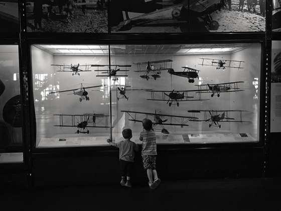 flight exhibit science museum
