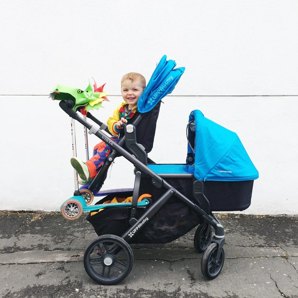 Pushchairs, Prams & Accs. For Double-Configuration 2 Pack ...
