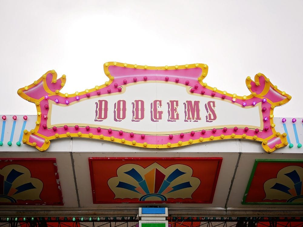 butlins fairground