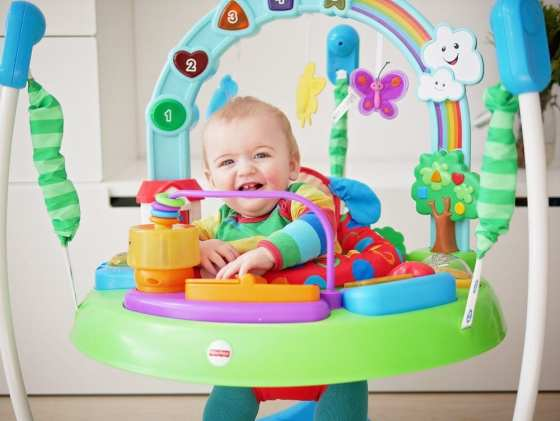 fisher-price laugh and learn puppy's jumperoo