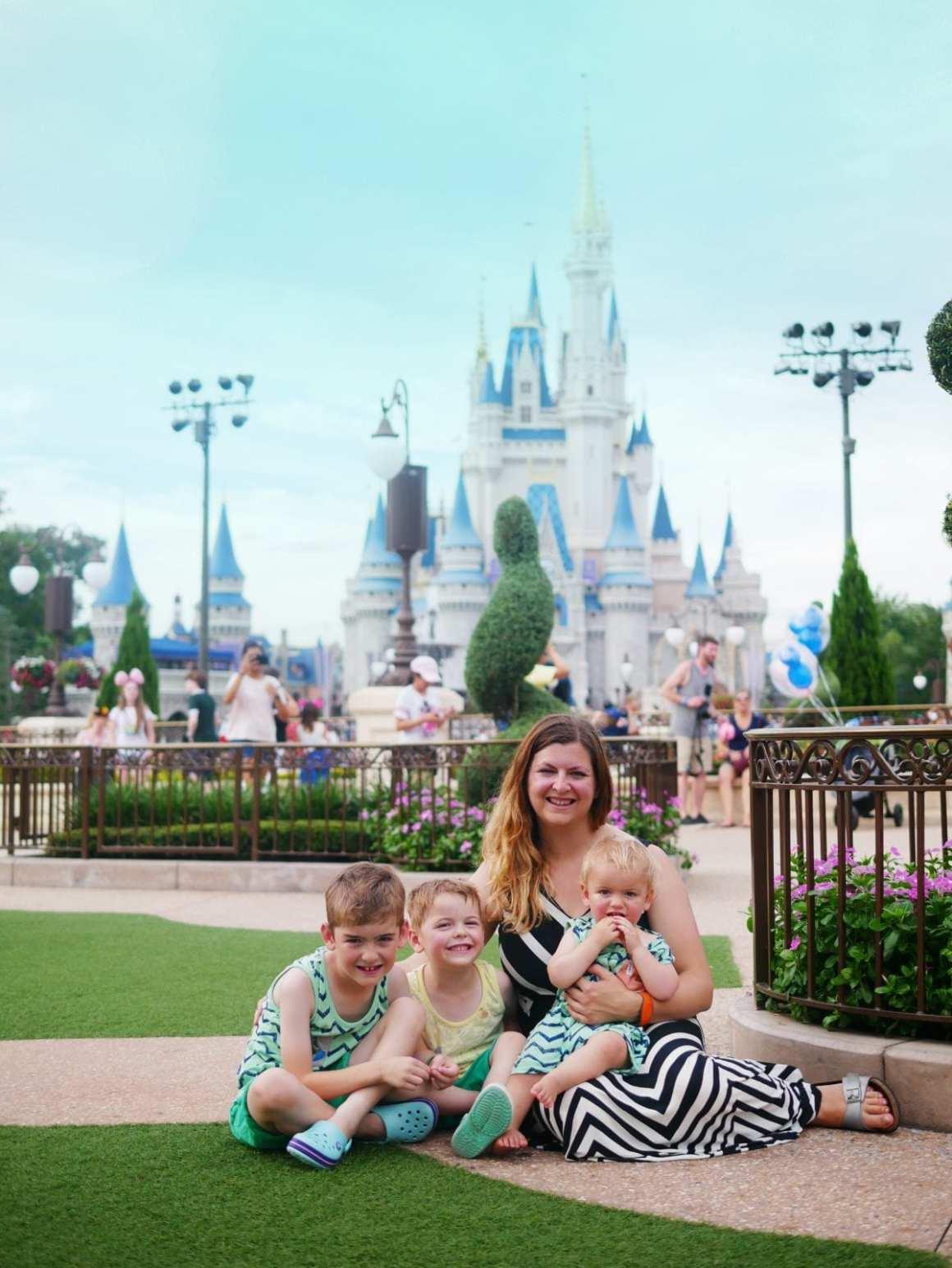Magic Kingdom Cinderella's castle