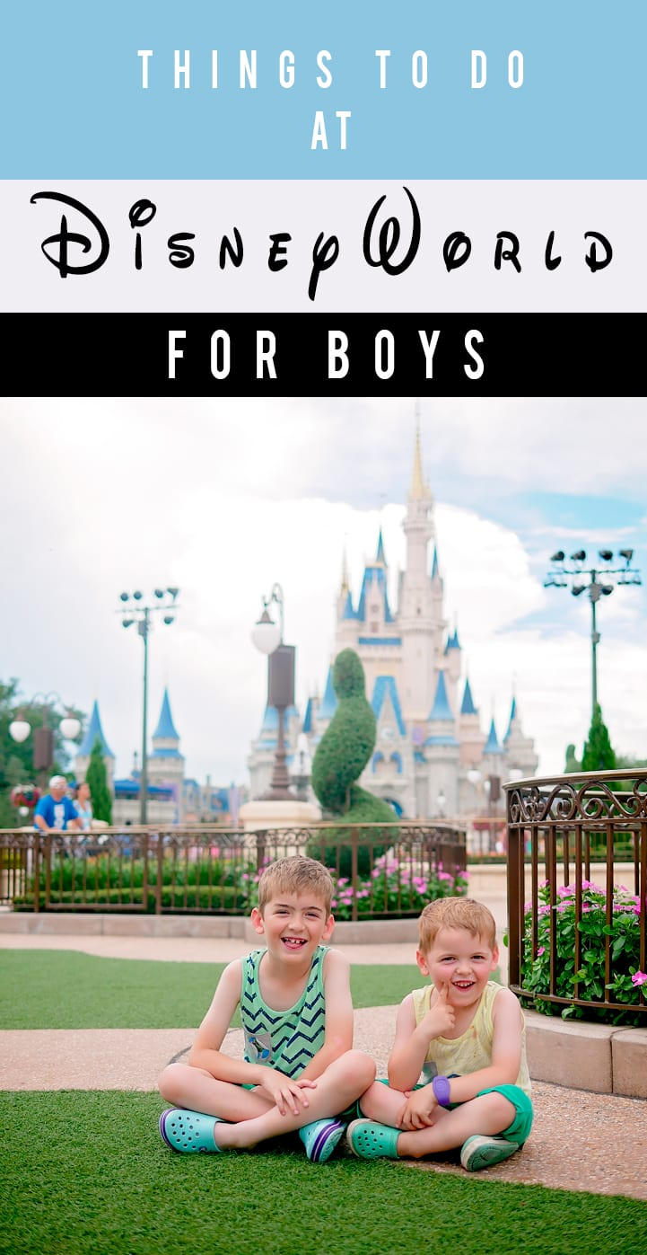 things to do at disney world for boys