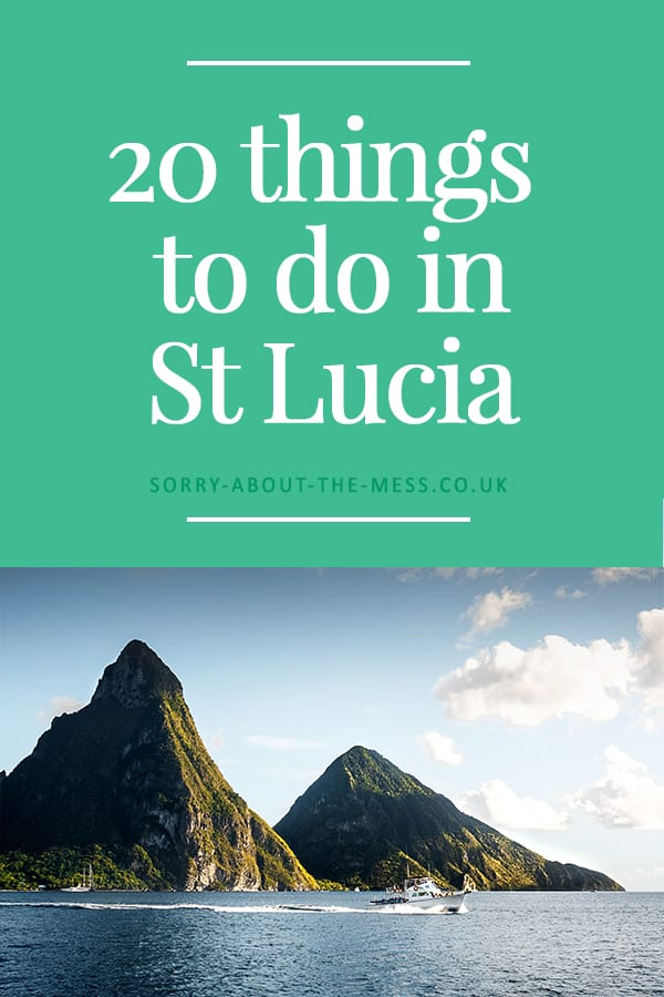 Fromclimbingthe world famous Pitons, sampling gourmet food, to visiting the most picturesque beaches the Caribbean has to offer, here are 20 of the best things to do in St Lucia. The beautiful island of St Lucia has it all, you won't find yourself shortof things to do in this tropical travel destination. #saintlucia #stlucia #thingstodo #pitons #island