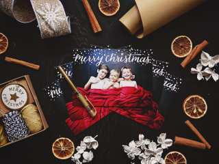 Christmas card photos