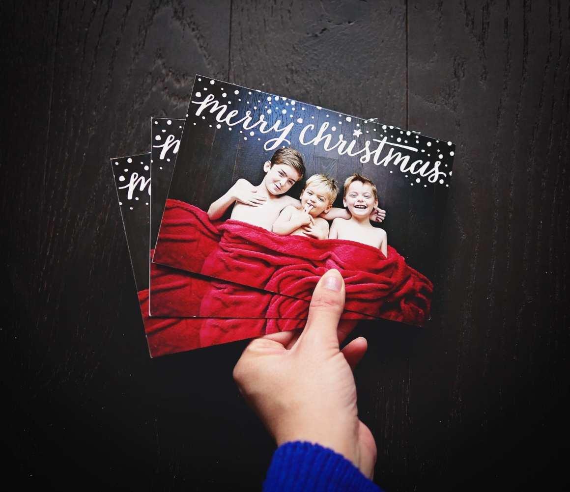 family christmas card photos
