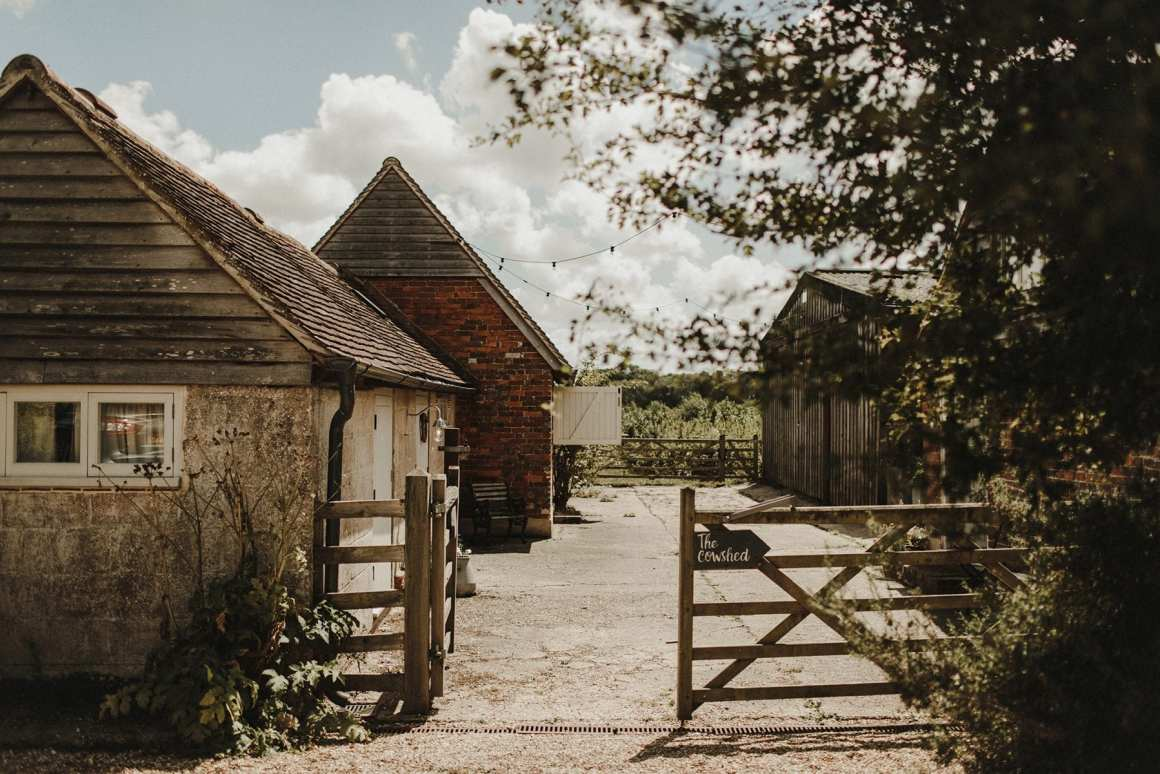 Hawthbush farm wedding venue