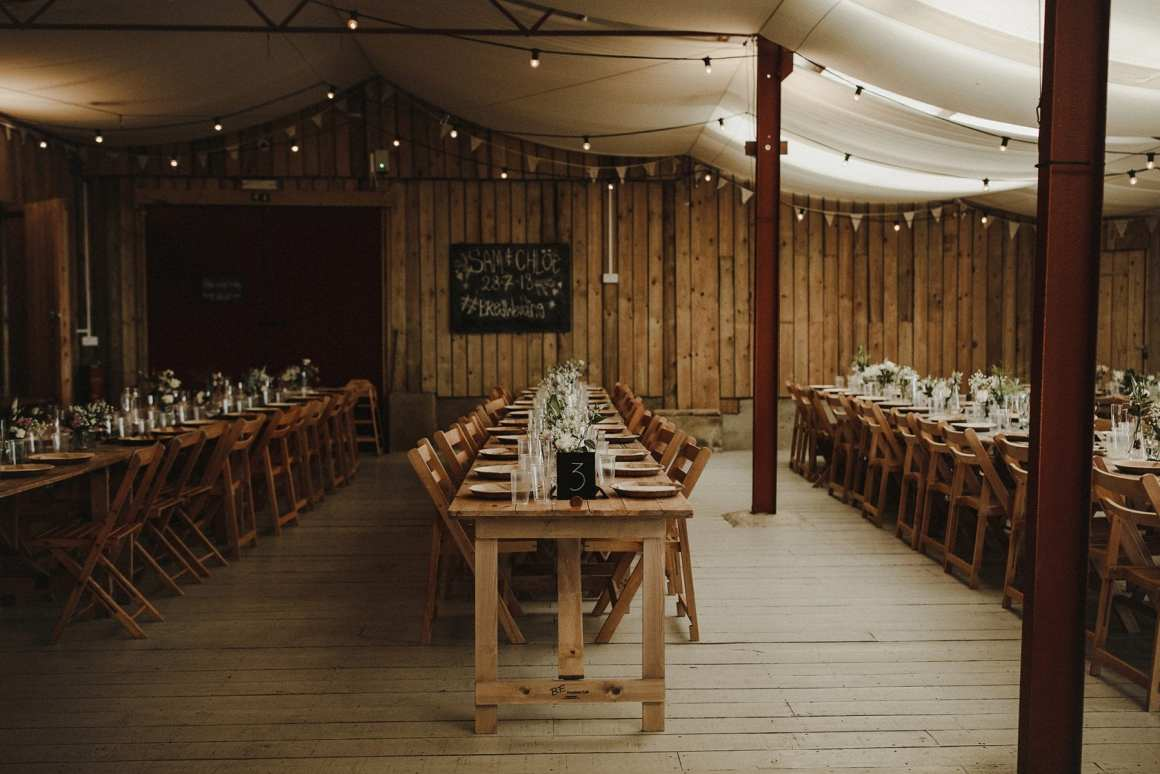 DIY wedding. Rustic barn wedding decorations. Hawthbush Farm.