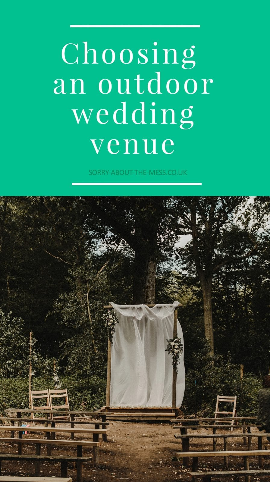 choosing an outdoor wedding venue