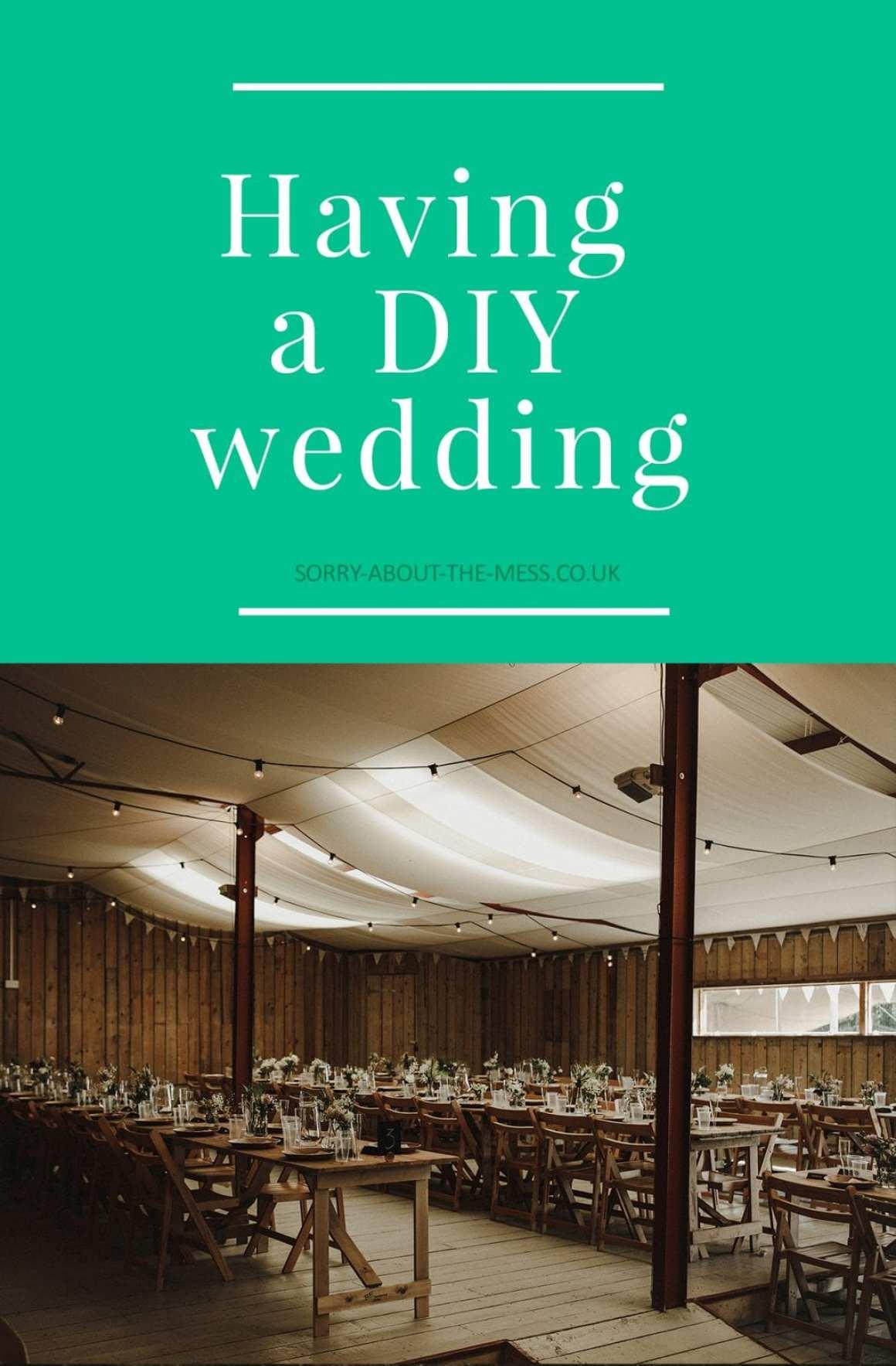 planning a DIY wedding