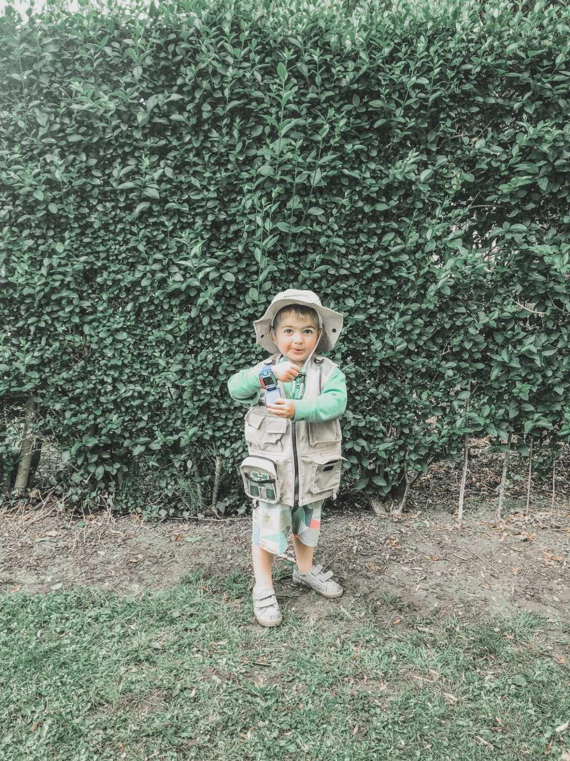Andy's dinosaur adventure costume