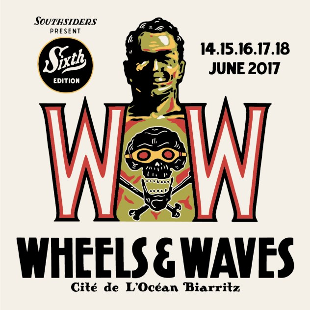 Wheels & Waves tatouage