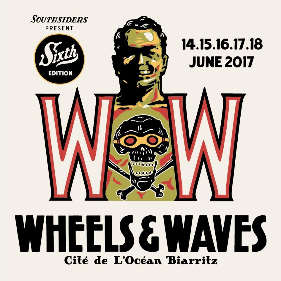 Wheels & Waves tatouage