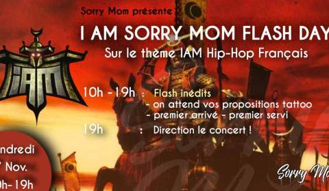 Visuel journée flash I am Sorry Mom