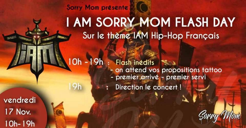 Visuel journée flash I am Sorry Mom
