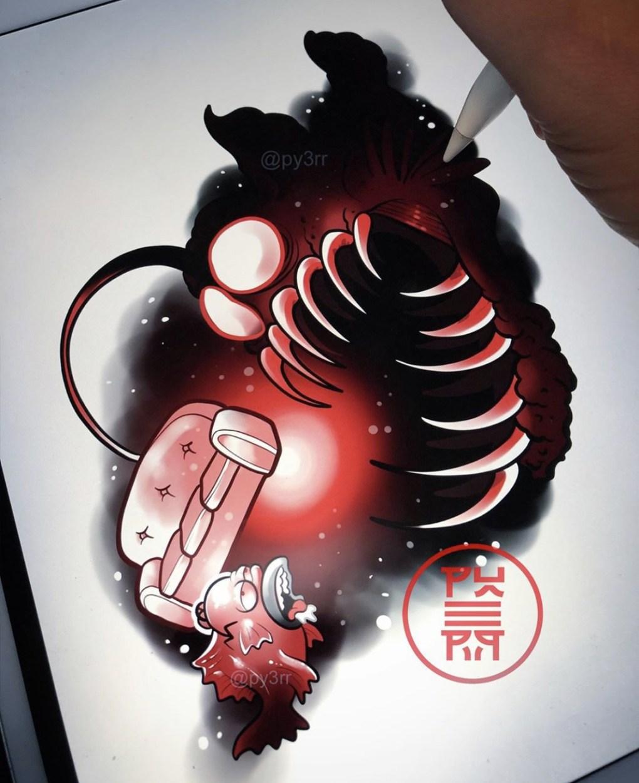 Tattoo Simpson