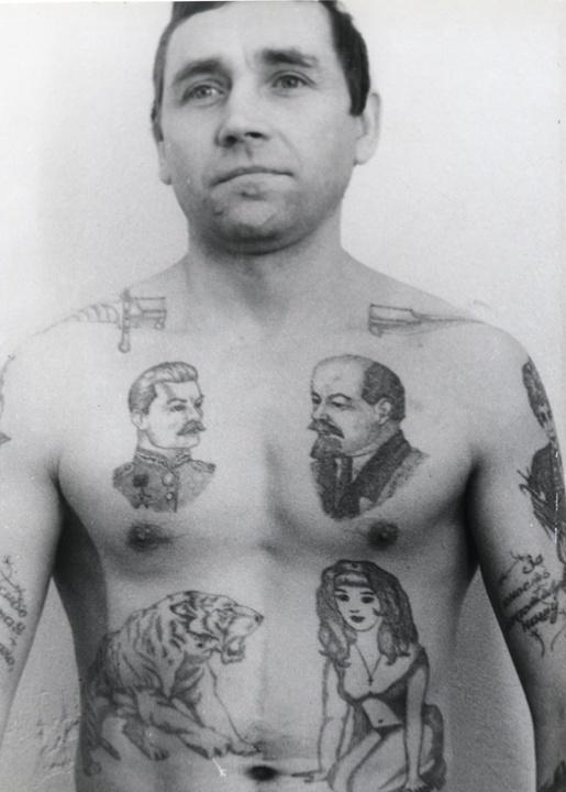 Tatouage prisonnier russe