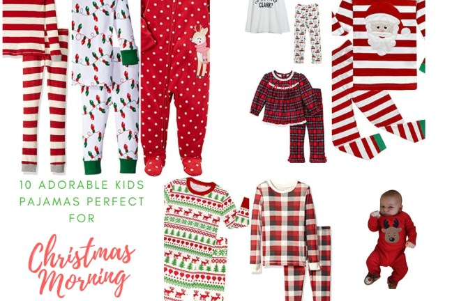 10 Adorable Kids Pajamas Perfect for Christmas Morning