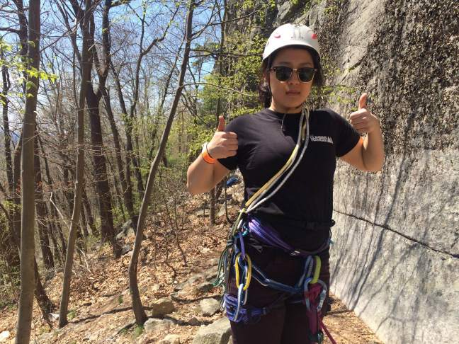 climb outdoors near NYC
