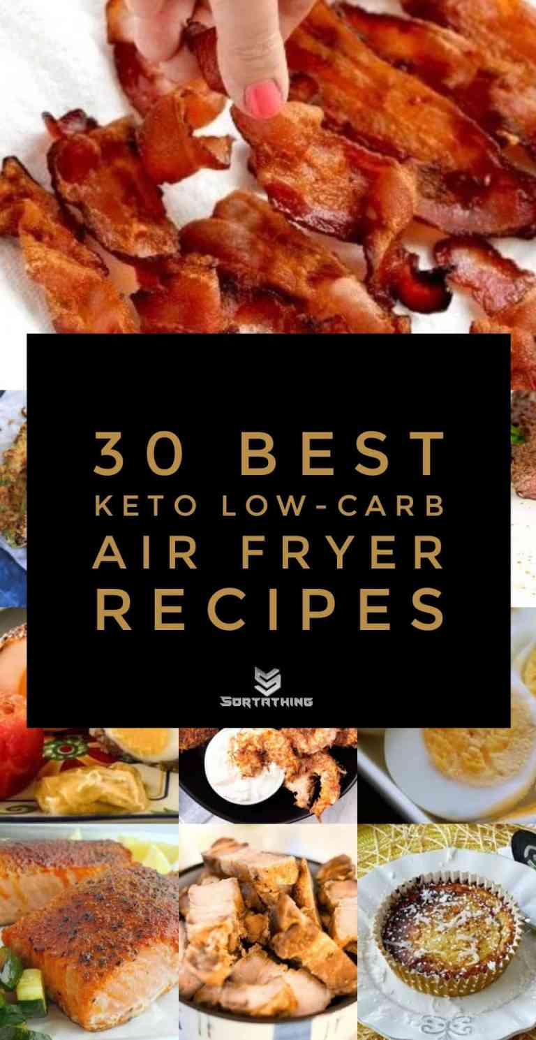 30 Best Keto Low-Carb Air Fryer Recipes Main