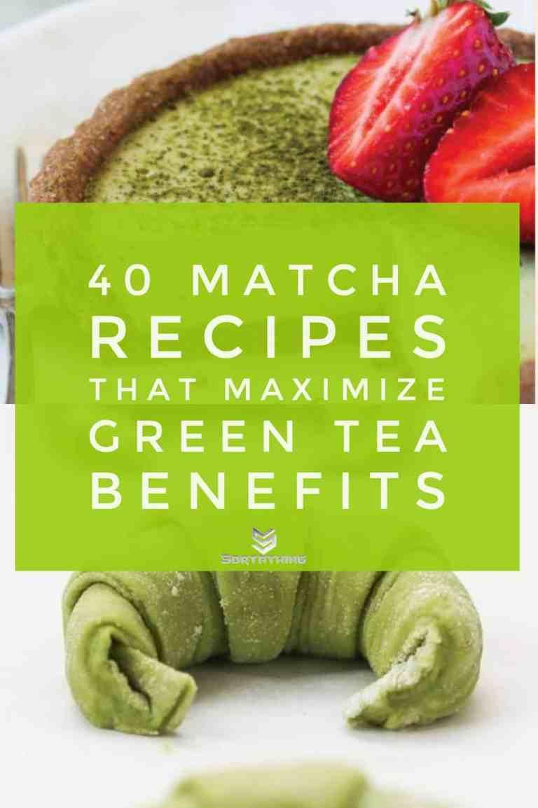 Matcha Coconut Tarts & Green Tea Croissants
