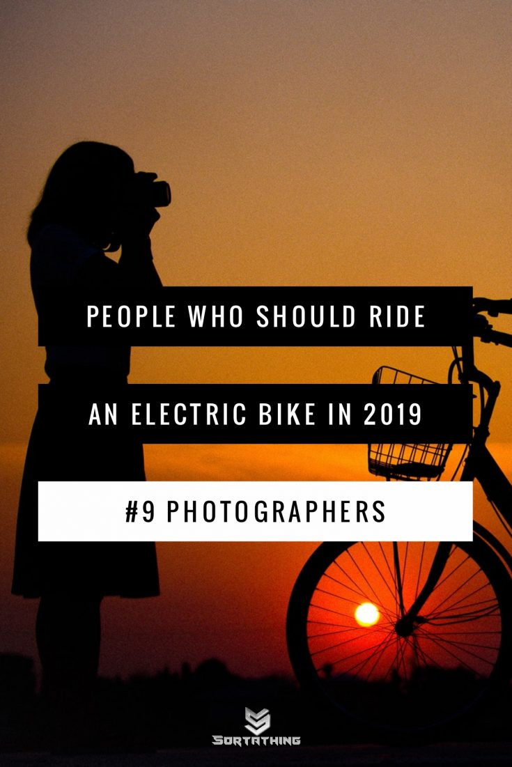 electric bikes for photographers