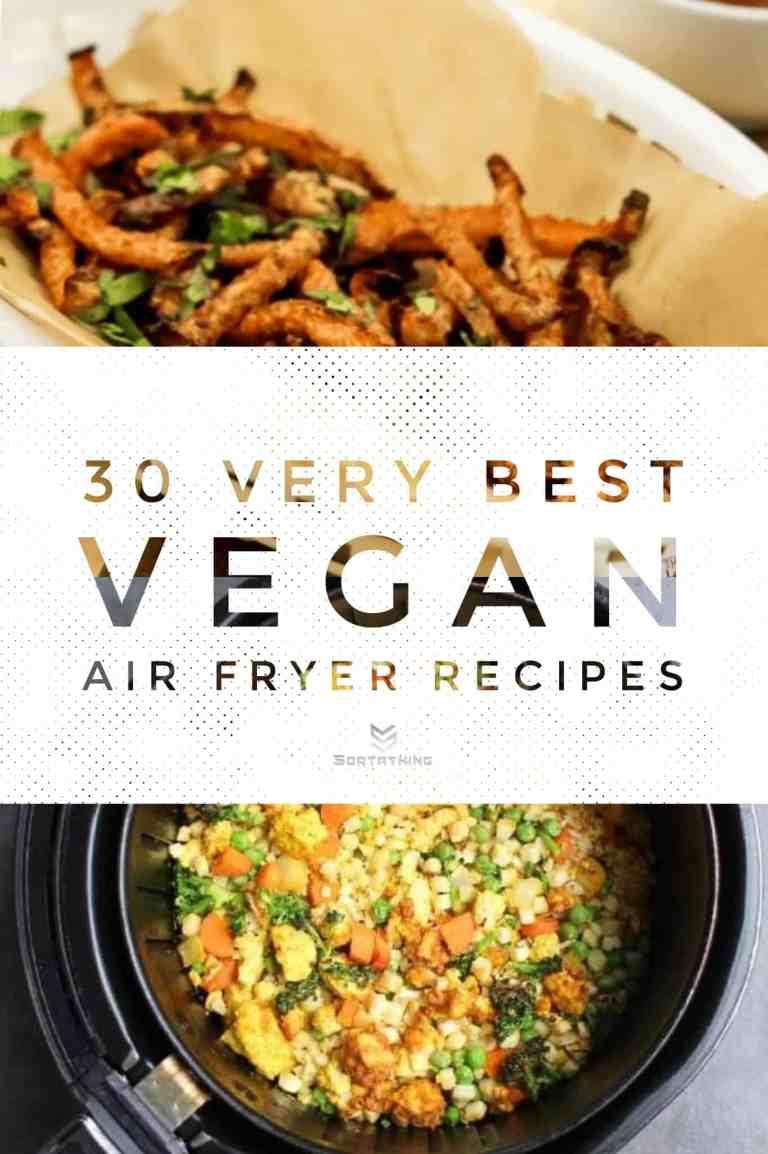 30 Very Best Vegan Air Fryer Recipes 2