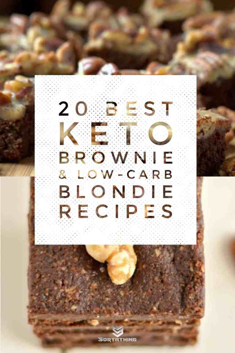 Low Carb Praline Brownies & No-Bake Maca Brownies