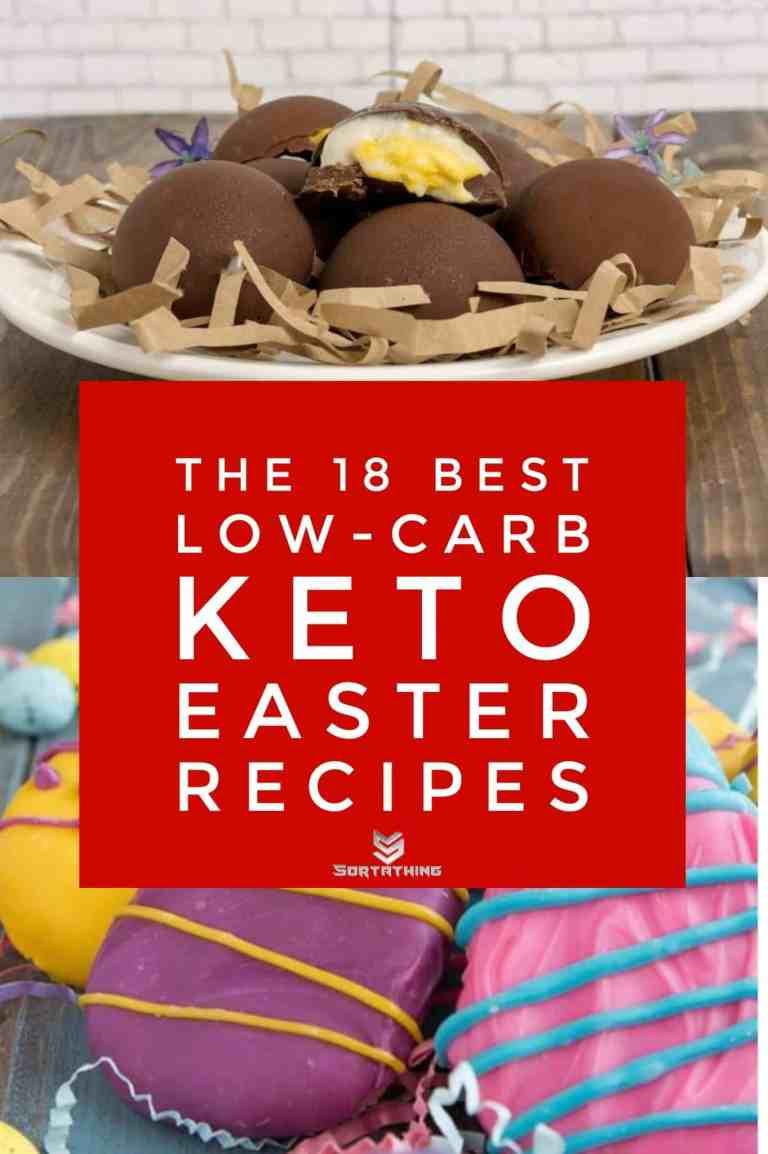 Easter Egg Ice Cream Truffles & Keto Easter Egg Fat Bombs