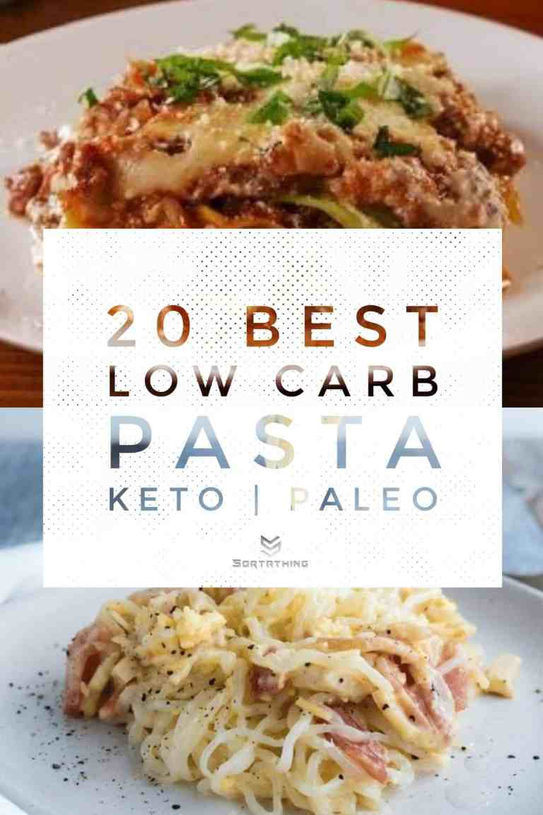 Cabbage Lasagna & Keto Carbonara with Konjac Noodles