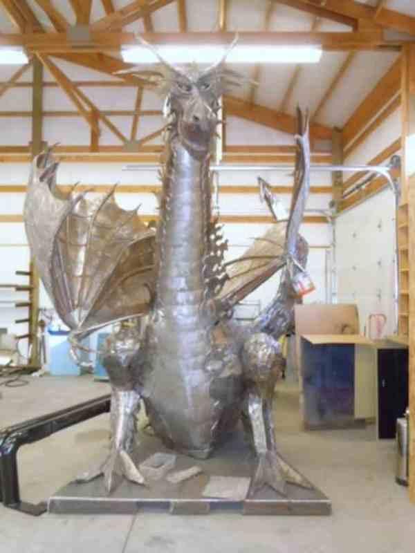 """The North-West Dragon"" - Original Artwork by Marcos Jones"