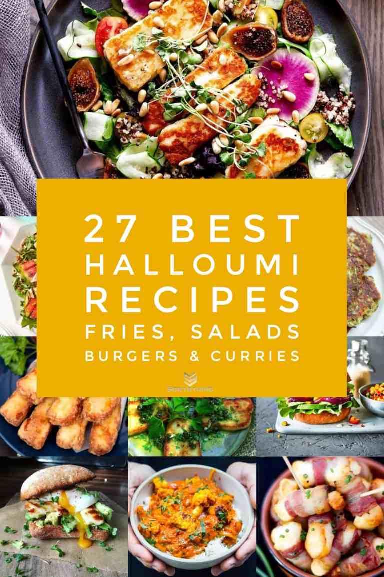 27 Halloumi Recipes - Halloumi Fries, Burgers, Salads & Curries