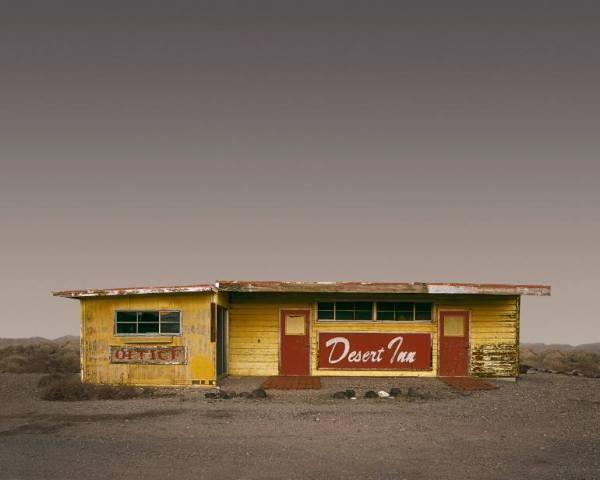 """Desert Inn, Beatty NV - Edition 4 of 9"" - Open Edition Print by Ed Freeman"