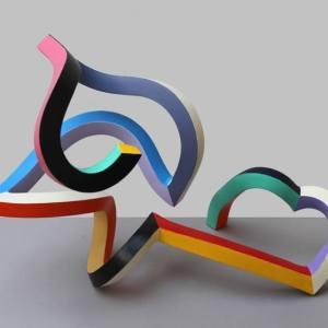 """Streamer 74"" - Original Artwork by Frans Muhren"