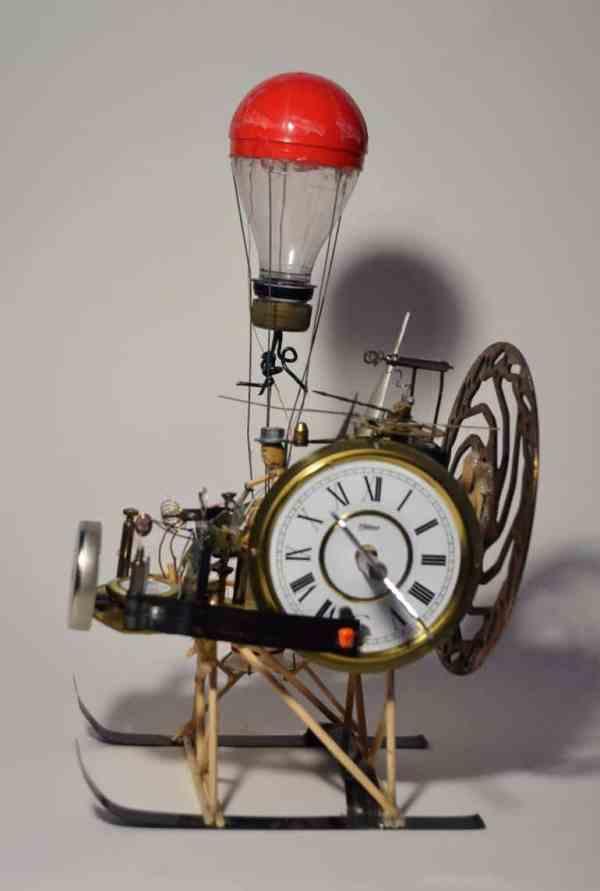 """Time Machine"" - Original Artwork by Kevin Stewart Cantwell BA hons"