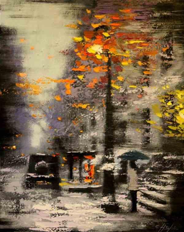 """Winter Light"" - Open Edition Print by Chin h Shin"