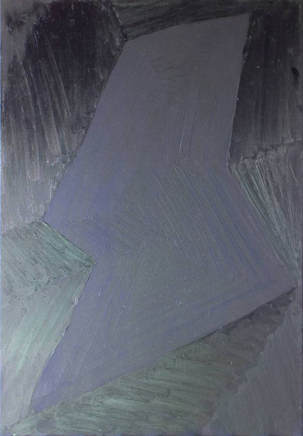 """Black painting 1"" - Open Edition Print by Sofia Bracamontes"
