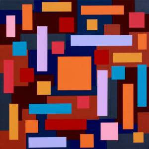 """Mesmerize Orange Mandarin"" - Open Edition Print by Sassoon Kosian"