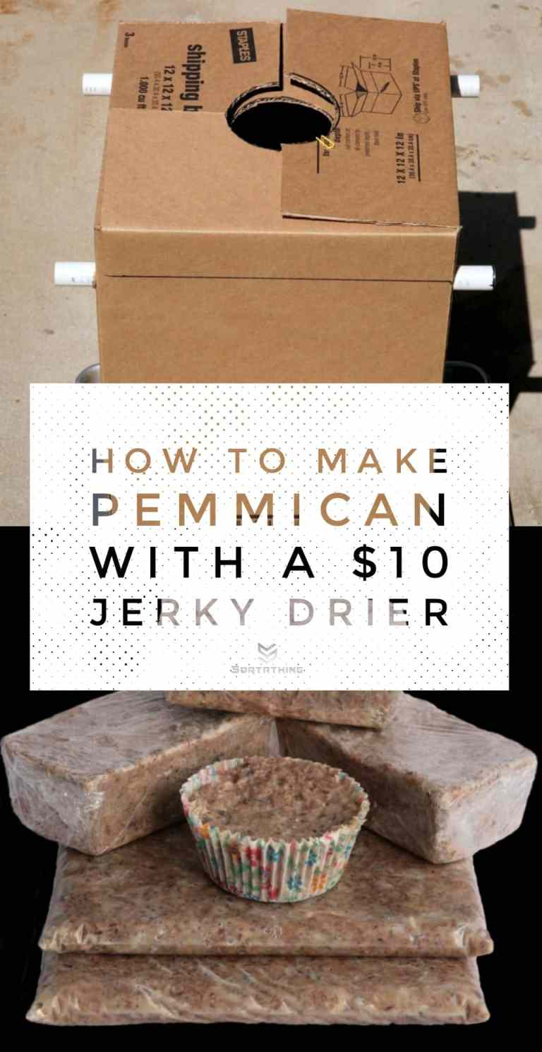 How to make pemmican with a $10 jerky drier