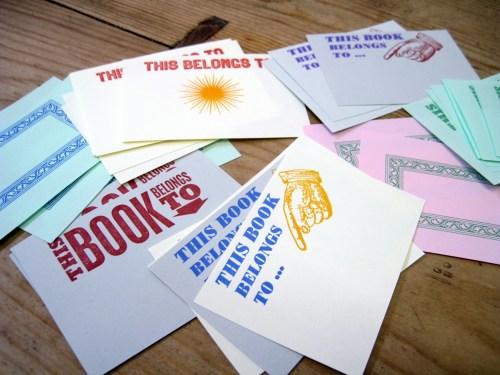 SORT Bookplates sml