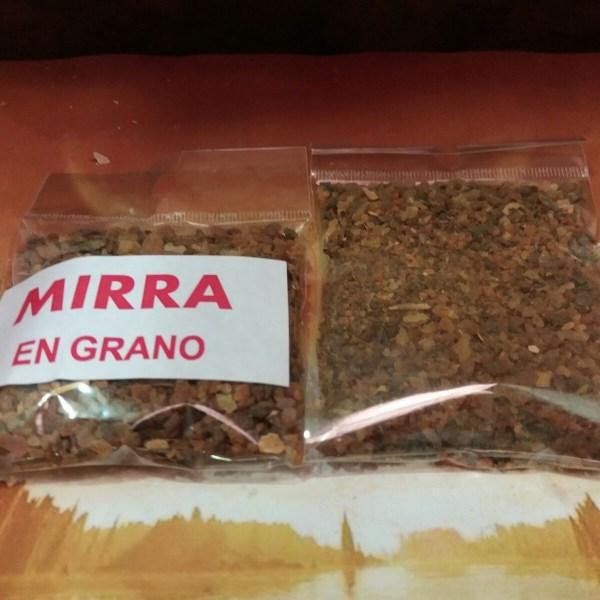 INCIENSO MIRRA EN GRANO 35g APROX