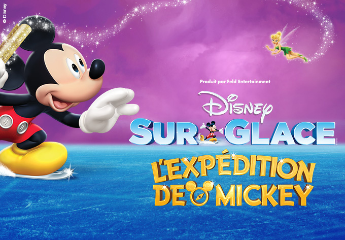 L'expédition de Mickey disney on ice