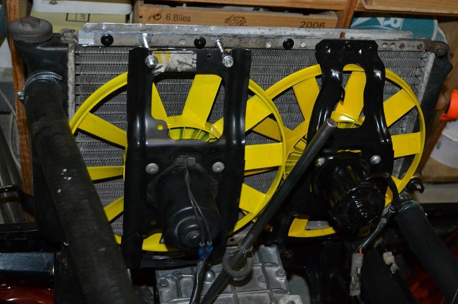 Double ventilateur additionnel 4L Trophy