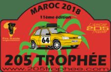 Logo du rallye raid 205 Trophée