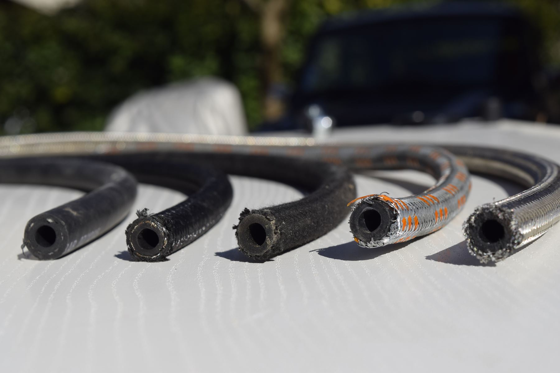 Durite Tuyau PVC Transparent Essence Carburant Carburateur Norme Alimentaire