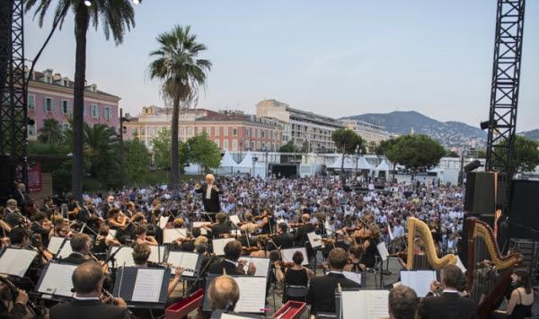 Nice Boléro Concert Gratuit Du 14 Juillet Sur La Place
