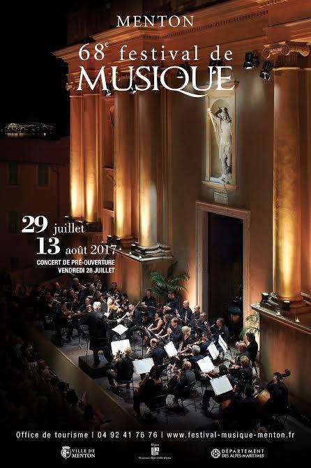 MENTON - 68e FESTIVAL DE MUSIQUE 2017