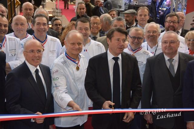 Agecotel 2018 salon de la restauration inauguration - Chambre de commerce et d industrie nice ...