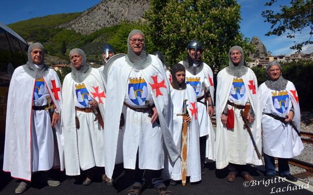 Les chevaliers d'Entrevaux